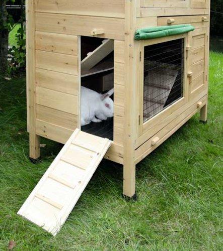 Kaninchenstall Appartement von Kerbl – ein durchdachtes Stallkonzept (doppelstöckig) - 6