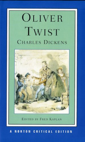 Oliver Twist (Norton Critical Editions) by Charles Dickens (1992-12-17)