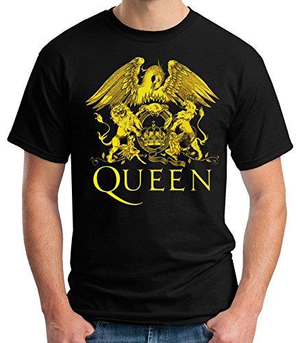 35mm - Camiseta Niño - Queen - Rock - T-Shirt, NEGRA, 5/6 años