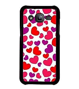 Fiobs Designer Back Case Cover for Samsung Galaxy J2 J200G (2015) :: Samsung Galaxy J2 Duos (2015) :: Samsung Galaxy J2 J200F J200Y J200H J200Gu (jaipur rajasthan african america cross pattern)