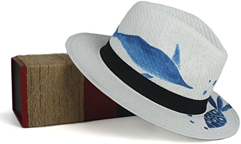 XXY Cappello Paglia di Paglia Cappello da Donna Cappello da Pescatore  Estivo da Spiaggia Cappellino da Sole Cappello da Lavoro... Parent 318e1b 8da788a59252