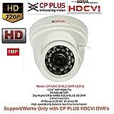 #9: CP PLUS CP-VCG-D10L2 HD CCTV Camera (1MP) DOME 24 IR LED