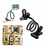 This Photron Universal Mobile Phone Clip Holder Stand has Flexible Long Arms, can be clipped onto any desk, bed, chair, wall cabinet, Satisfy your needs whatever you are at home or on the go, Allows you to enjoy your phone anywhere.   Product Descrip...