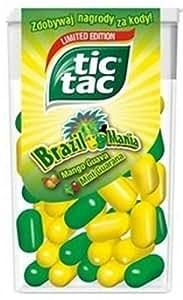 Tic Tac Brésil Variété-Coupe du Monde Menge:18g