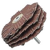 10,2cm Star Formen Lasche Sander 1/10,2cm Schaft ideal Werkzeuge für das Schleifen sehr Konturierte oder profilierten Holz oder Metall Teile. Holz-, Finishing, Möbel, Wiederherstellung und allgemeine Private Nutzung (80Körnung)