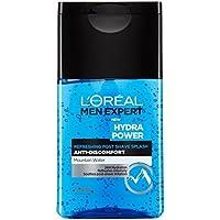 L'Oréal Paris Men Expert Hydra Potere Rinfrescante Dopo Barba Spruzzata 125Ml (Confezione da 2)