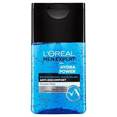 L'Oréal Paris Men Expert Hydra Potere Rinfrescante Dopo Barba Spruzzata 125Ml (Confezione da 6)