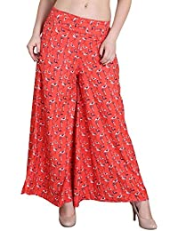 Hipe Indian Ethnic Designer Printed Casual Wear Palazzo Pant For Women's - B07595WYMD
