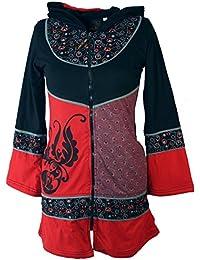 Colgante hippie Chic colgante rojo/chaqueta chaquetas y chalecos