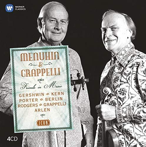 Menuhin & Grappelli:Friends In Music (Box4Cd)(Icon)