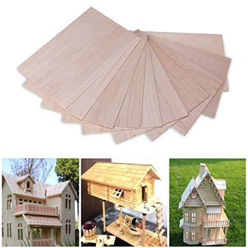 Láminas madera balsa manualidades diseño
