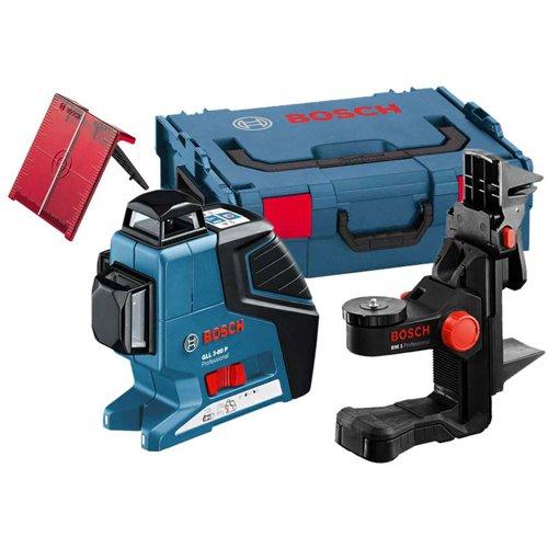 Preisvergleich Produktbild Bosch GLL3-80P Multi Line Laser mit BM1-Wandhalterung 0601063309