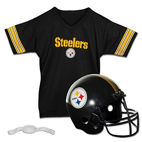 Franklin Sports NFL Replica Youth Helm und Trikot-Set