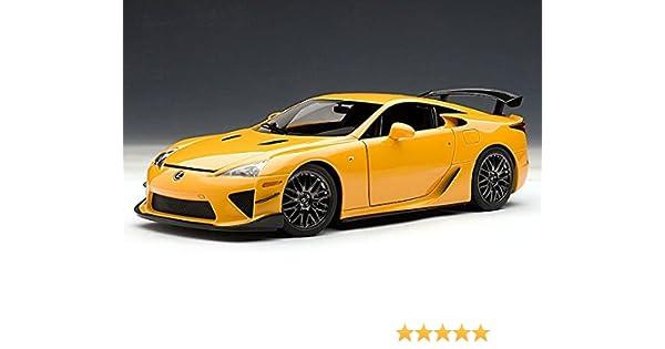 Lexus LFA Nurburgring Package 1/18 Orange   AUTOart Diecast Models:  Amazon.co.uk: Toys U0026 Games