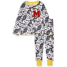 Mickey Mouse Disney All Over Print, Conjuntos de Pijama para Niños