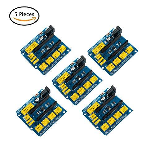 5PCS Nano I/O Erweiterungs Sensor Shield Modul für Arduino UNO R3 Nano V3.0