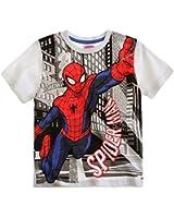 Spiderman T-Shirt Kurzarm in 3 Varianten und 5 Größen blau, rot und weiß