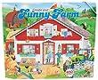 Depesche 7826 Livre de coloriage avec autocollants Funny Farm 32 pages + 3 planches d'autocollants