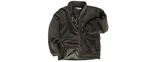 Hoggs of Fife Ghillie Padded Waterproof Fleece Jacket: Amazon.co ...