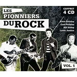 Les Pionniers du rock - Volume 1 : Elvis Presley, Bill Haley, Louis Jordan, Carl Perkins - Coffret 4 CD