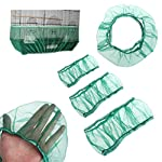 UEETEK Bird Cage Skirt Mesh Bird Cage Seed Catcher Guard Net Cover Green Size S 6