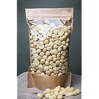 Nueces de macadamia sin procesar, libres de transgénicos, recolectadas del área orgánica (700gr)