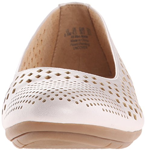 Naturalizer Uncover Synthétique Chaussure Plate White Smith