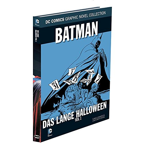 DC Graphic Novel Collection #19: Batman - Das lange Halloween, Teil 1 (2015, Eaglemoss) (Batman, Lange Halloween-joker)