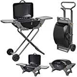 Best Bbq Gas Grills - Folding Gas Barbecue Combo BBQ Trolley Portable Picnic Review
