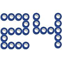 STpro Selbstklebender Verband Tape Fixierverband Selbsthaftende Bandage Tape Haftbandage 5cm x 24 Stück Blau Cohesive... preisvergleich bei billige-tabletten.eu