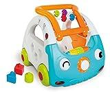 Infantino Sensory 3-in-1 Lauflernauto, Lauflernhilfe, Spielauto, mehrfarbig