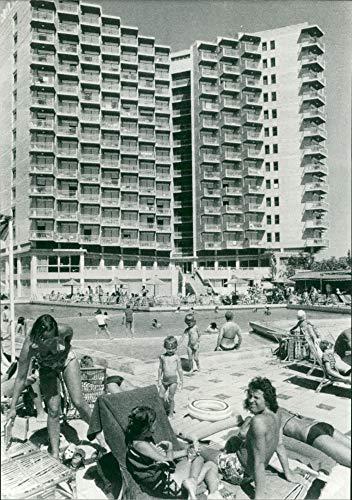 Hotel Vintage Park (Fotomax Vintage Photo of Rio Park Hotel: Holiday Resort of Benidorm.)