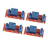 Almencla 4pcs DC 3V 1 Kanal Relais Modul Steuerung Für Arduino, 8051, AVR