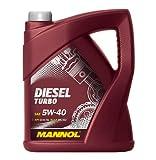 MANNOL Diesel Turbo 5W-40 API CI-4/SL Motorenöl, 5 Liter