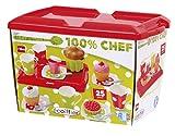 Ecoiffier 2611 - Frühstücksbox mit Tablett, bunt