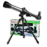 PHOEWON Kids Astronomical Telescopes Early Science Telescope with Tripod Portable Educational Learning Toy