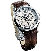 Seiko Herren-Armbanduhr XL Premier Chronograph Quarz Leder SPC059P1
