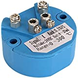 Owfeel DC24V tipo K sensores de temperatura transmisor de 0a 300° Blue