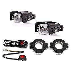 Zusatzscheinwerfer Set Halogen Lumitecs S5 mit E-Zulassung für Honda CBF 1000/F/ 600/S, Crossrunner,Crosstourer, CTX 1300/700/ N, NC 700/750 S/X, Transalp XL 600/650/ 700 V, Varadero 125/XL 1000 V