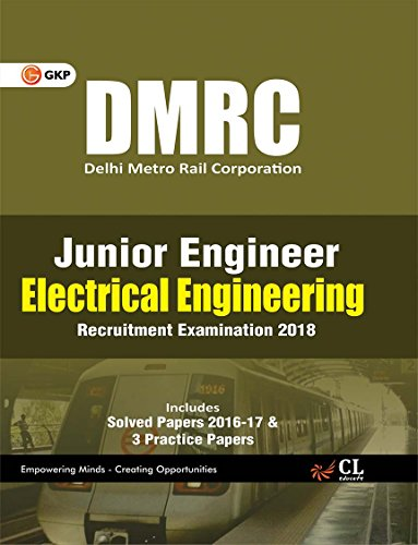 DMRC Junior Engineer Electrical Engineering Recruitment Examination 2018