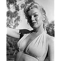 Photo Monroe Marilyn 022 A4 10x8 Poster Print