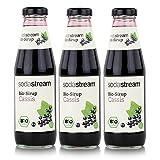 SodaStream Getränke-Bio-Sirup Cassis Geschmack 500ml (3er Pack)