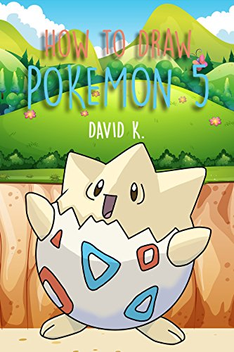How to draw pokemon 5 the step by step pokemon drawing book by