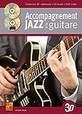Accompagnement jazz à la guitare en 3D (1 Livre + 1 CD + 1 DVD)