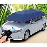 Yhongyang Smart Auto Sonnenschirme * Automatische Fernbedienung Auto Zelt Falten Tragbare Auto Regenschirm Sonnencreme Abdeckung,Navy