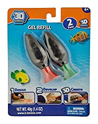 3D Maker Refill Gel, Red/Green (2 Count)