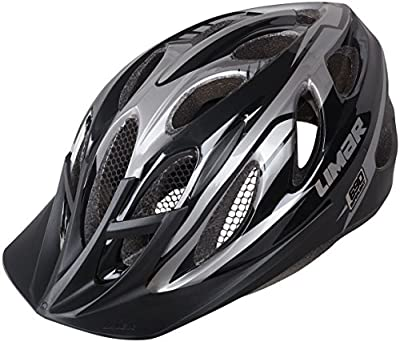 Limar MTB Rear Light 690 Helmet - Matt Black/Anthracite, Medium/52 from Limar