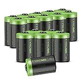 Tyrone Lithium-Batterie, 1/2 AA, 3,6 V, ER14250 LS14250, 1200 mAh, kompatibel für Dogwatch Hundehalsband und einige Bewegungsüberwachungssysteme/Alarmsystem – 16 Stück
