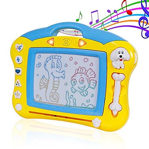 Speedmar Baby Geburtstag Doodle & Scribble Boards Brettspiel-Spielzeug-Gekritzel für Kinder - löschbare Bunte Reißbrett-Schreibens-skizzierende Auflage für Kinder Inspiration und Farben