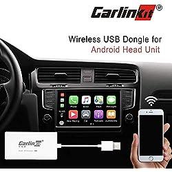 Inalámbrico Receptor Multimedia (Android Auto, navegación, Apple CarPlay for Unidad Principal de Android/Google y waze Map/GPS